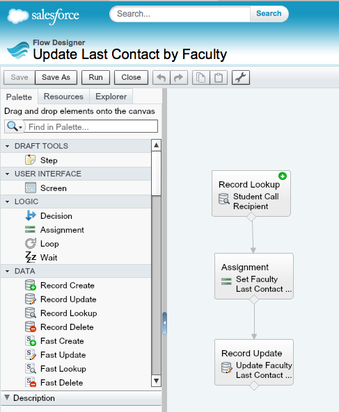 Salesforce User Flow: Using Process Builder To Update The Last Contact Your
