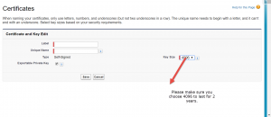 Dealing with self signing certificates expiring in